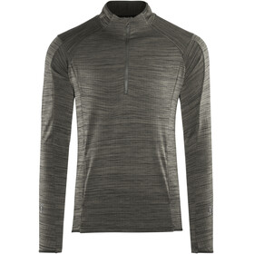 Craft Grid Midlayer Men grey/black